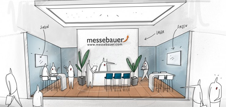 Messebauer - WIR machen Messebau!