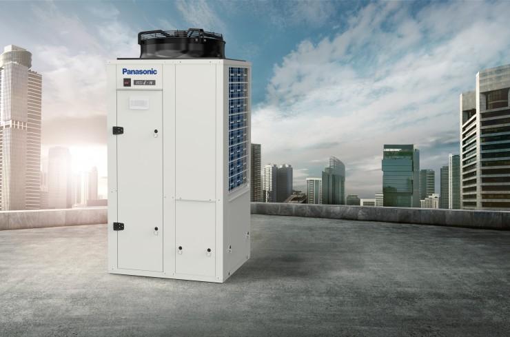 Panasonic: Individuell konfigurierbare Kaltwassersätze von 20 bis 210 kW