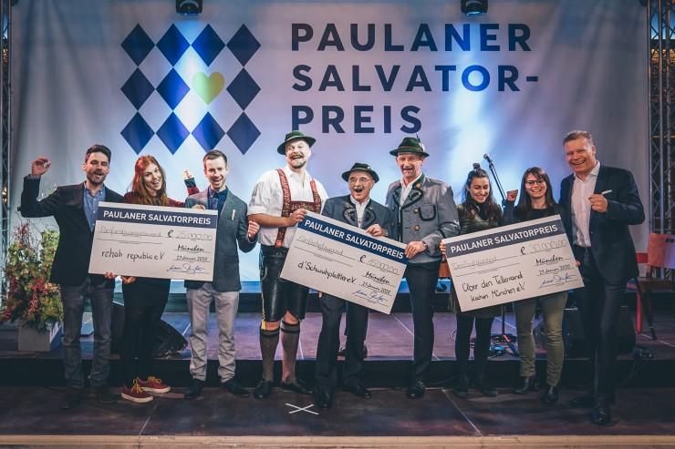 Drei TraditioNeue Projekte mit dem Paulaner Salvator-Preis ausgezeichnet