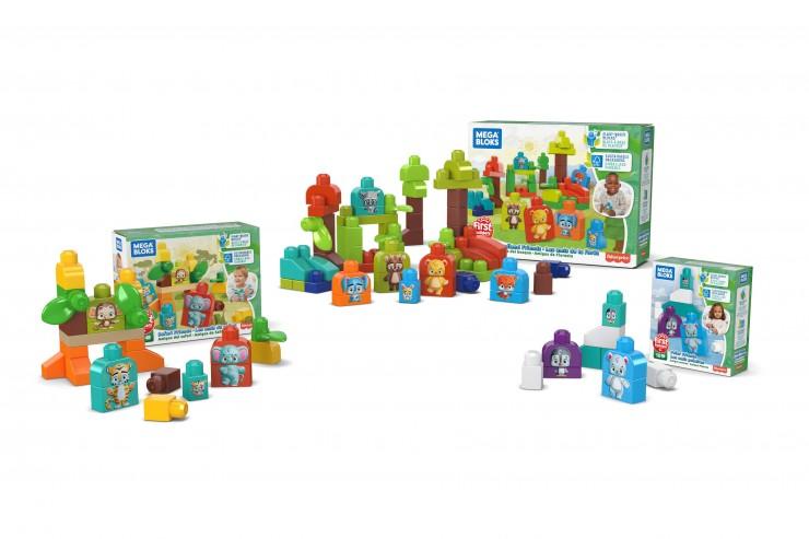 Mattels MEGA bringt neue biobasierte Kunststoffblöcke auf den Markt