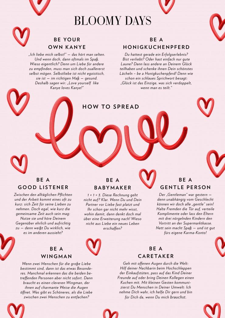 How to spread Love: Liebe verbreiten zum Valentinstag 2020
