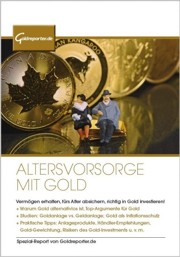 Altersvorsorge mit Gold: ein Spezialreport von Goldreporter.de