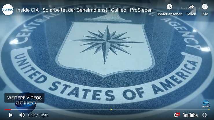 Das Ende der CIA, der Central Intelligence Agency