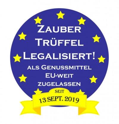 Sensation: EU-weite Legalisierung der Zaubertrüffel fand am 13. September 2019 statt und niemand hat es gemerkt!