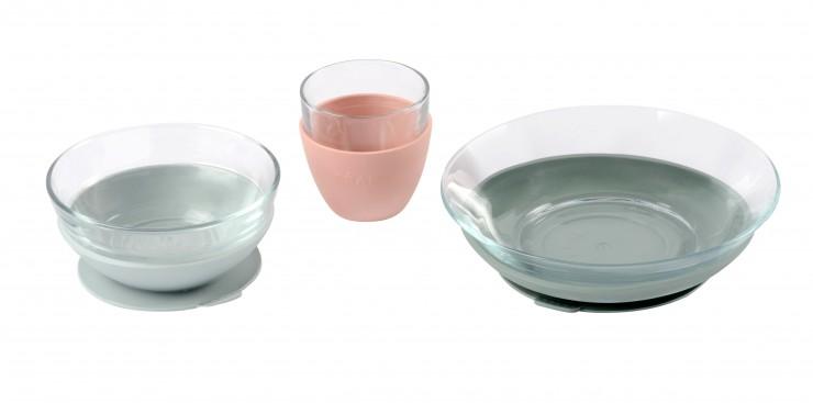 Weltneuheit: Geschirr-Set für Babys aus bruchfestem Glas