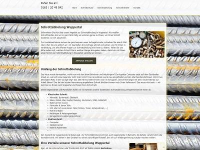 Schrottabholung in Wuppertal - Schrott ordnungsgemäß entsorgen