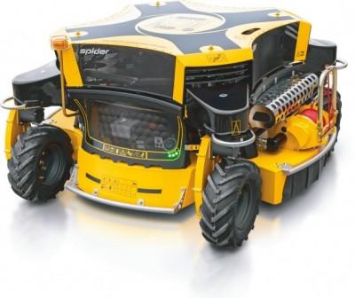 Neues Geschäftsmodell für Grünflächenpflege: Rumsauer GmbH vermietet professionelle Spider Böschungsmäher an Fachhändler