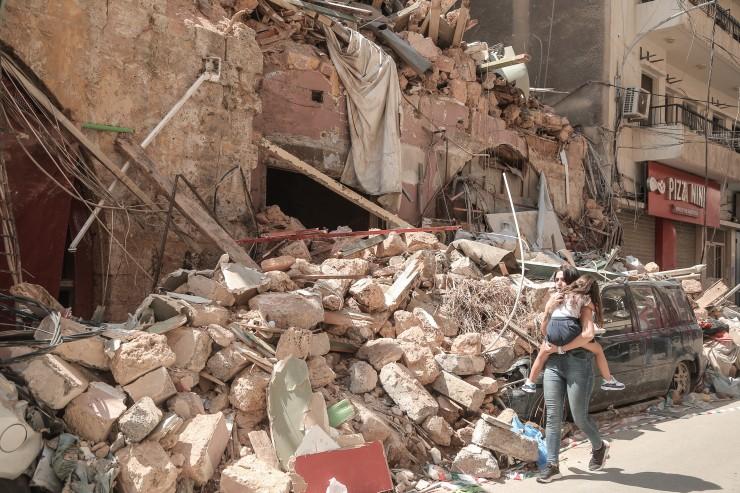Kinder von Beirut nach dem Inferno: Leben in Unsicherheit / SOS-Kinderdörfer warnen vor langfristigen Folgen und leisten psychosoziale Hilfe
