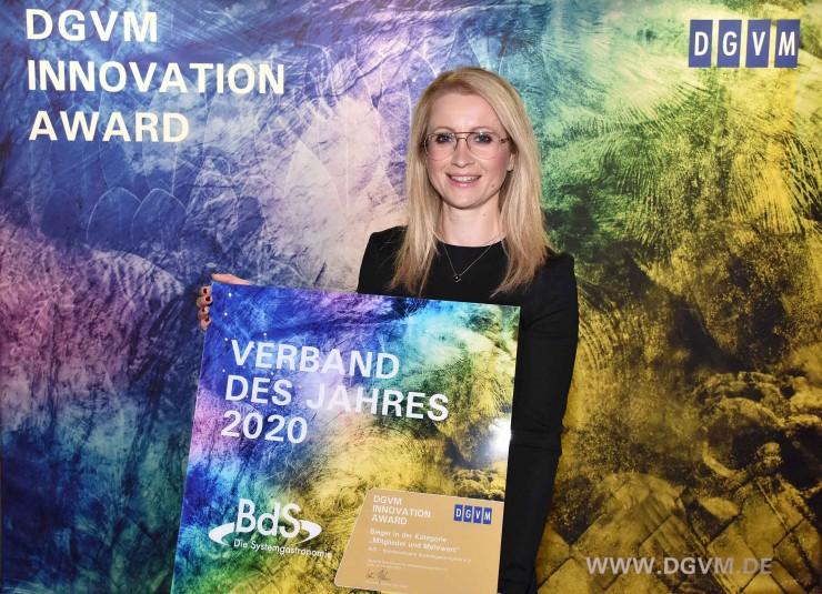 Verband des Jahres 2020: BdS erhält Auszeichnung von der Deutschen Gesellschaft für Verbandsmanagement