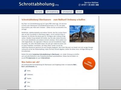 Umzug, Renovierung oder Frühjahrsputz - Schrottabholung Oberhausen