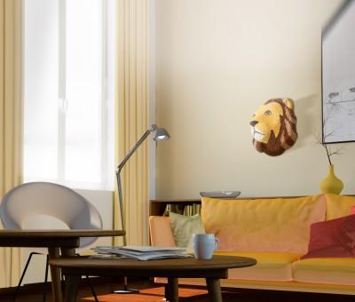 Tierisch schön: Löwe und Zebra aus PlayMais schmücken die eigenen vier Wände