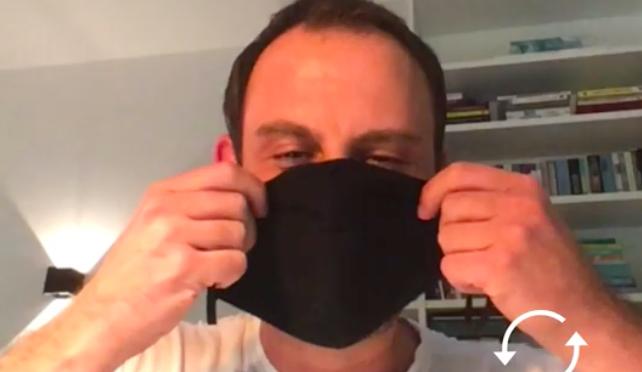 Digitaler Innovator entwickelt Masken-Erkennung