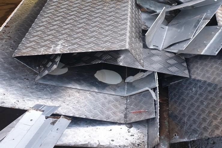 Die Schrottabholung Wuppertal holt den Altmetallschrott