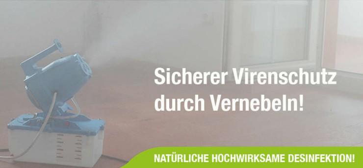 Medi-Clean sorgt in Zeiten von Corona für hocheffiziente Raumdesinfektion
