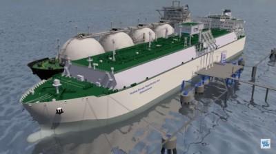 Flüssiggas-Import über Wilhelmshaven scheitert an der