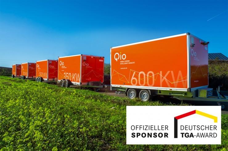 Qio: Offizieller Sponsor freut sich über Preisverleihung des DEUTSCHEN TGA-AWARDS am 12. November