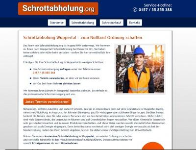 Altmetallabholung in Wuppertal kostenfrei für Privat und Firmenkunden möglich