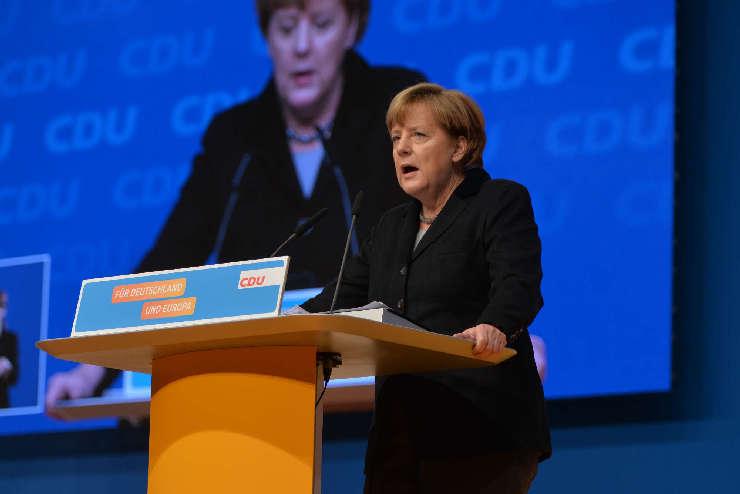 Wann wird Angela Merkel diese Rede halten? Teil 1