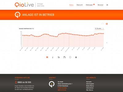 Qio setzt auf Fernüberwachung: Die mobile Heizzentrale immer im Blick