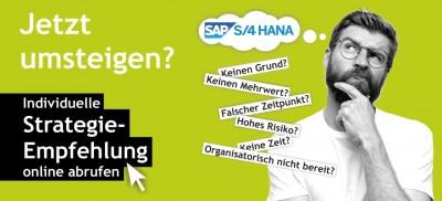 Individuelle Strategie- Empfehlung fur den Wechsel auf SAP S/4HANA
