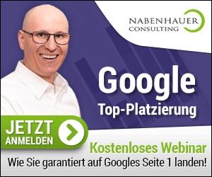 Der effiziente Weg zur Google Top Platzierung von Nabenhauer Consulting