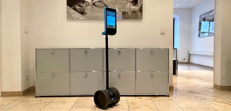 Bedienungsfreundlich. Intuitiv. Hochauflösend. Besichtigungsroboter SAM 2.0
