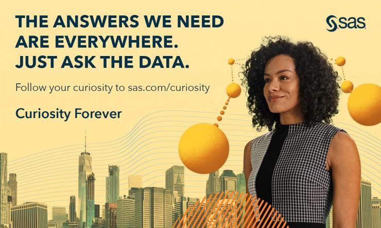 Globale Brand-Kampagne: Analytics-Gigant SAS setzt auf
