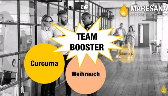 Gesundes Team Booster von  Maresana GmbH