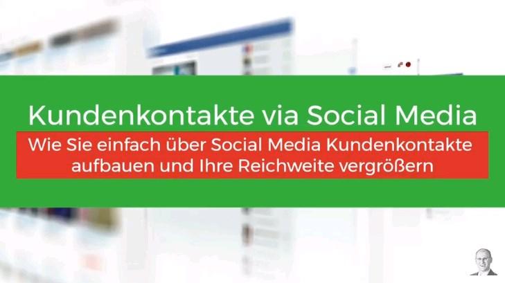 Social Media Plattformen richtig nutzen und Kontakte ausbauen