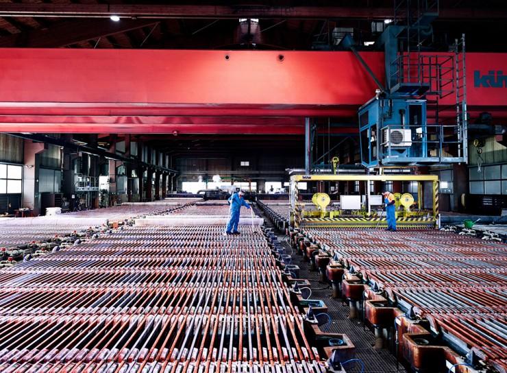 Montanwerke Brixlegg AG - Recyceltes Kupfer besitzt dieselbe Materialqualität wie der Primärrohstoff.