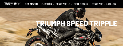 Triumph Motorrad Ersatzteil Shop Deutschland - Ihr Triumph Online Versand Handel | www.triumph-teileshop.de
