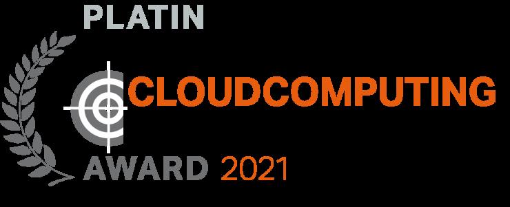 Syntax gewinnt CloudComputing-Insider IT-Award 2021 in Platin in der Kategorie