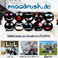 Ein Jahr moodrush.de - Drei Studenten entwickeln mit Smiley-Kissen Gefühle zum Anfassen