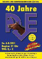 40 Jahre RVE großes Fest mit den Partyschwaben