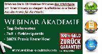 Webinar Akademie: Social Media Marketing mittels Facebook & Xing