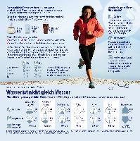 Studie zur größten Mineralwasser-Trinkaktion Deutschlands:  Mineralwasser trinken steigert die körperliche und geistige Fitness