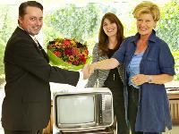 Einer der ersten Farbfernseher geht jetzt in Pension