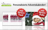 Personalisierte Adventskalender - die perfekte Geschenkidee für die Vorweihnachtszeit!