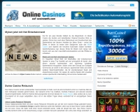 Casino Nachrichten von Online Casinos
