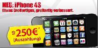 Handy mit Auszahlung - das neue iPhone 4S Onlineschnäppchen