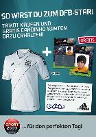 Neues DFB-Trikot mit Gratis-cardinhos bei SPORT 2000