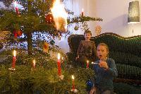 Brandgefährliche Weihnachtszeit. (mit Bild)