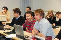 Tag der offenen Hochschultür am 12. Januar 2012 an der Handelshochschule Leipzig (HHL)