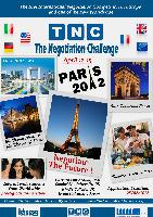 World Negotiation Championship first time in Paris (13-14 April 2012)