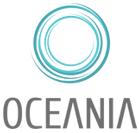Eine Oceania Badewanne mit Whirlpool