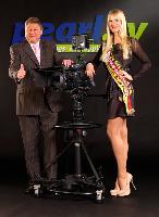 pearl.tv-Moderatorin Miss Germany 2011 Anne-Kathrin Kosch auf der CeBIT