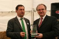 Aus Stroh wird Biotreibstoff in Sachsen-Anhalt