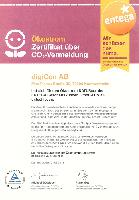 DVD-Hersteller digiCon AG verwendet für DVD-Produktion Ökostrom