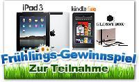 Frühlingsgewinnspiel für Blogger und Facebook User - iPad3 & mehr zu gewinnen