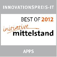 Innovationspreis-IT kürt App für cobra Mobile CRM zu den BEST OF 2012